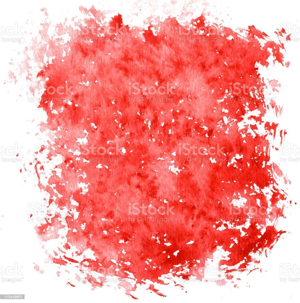 Red Blotch stock photo