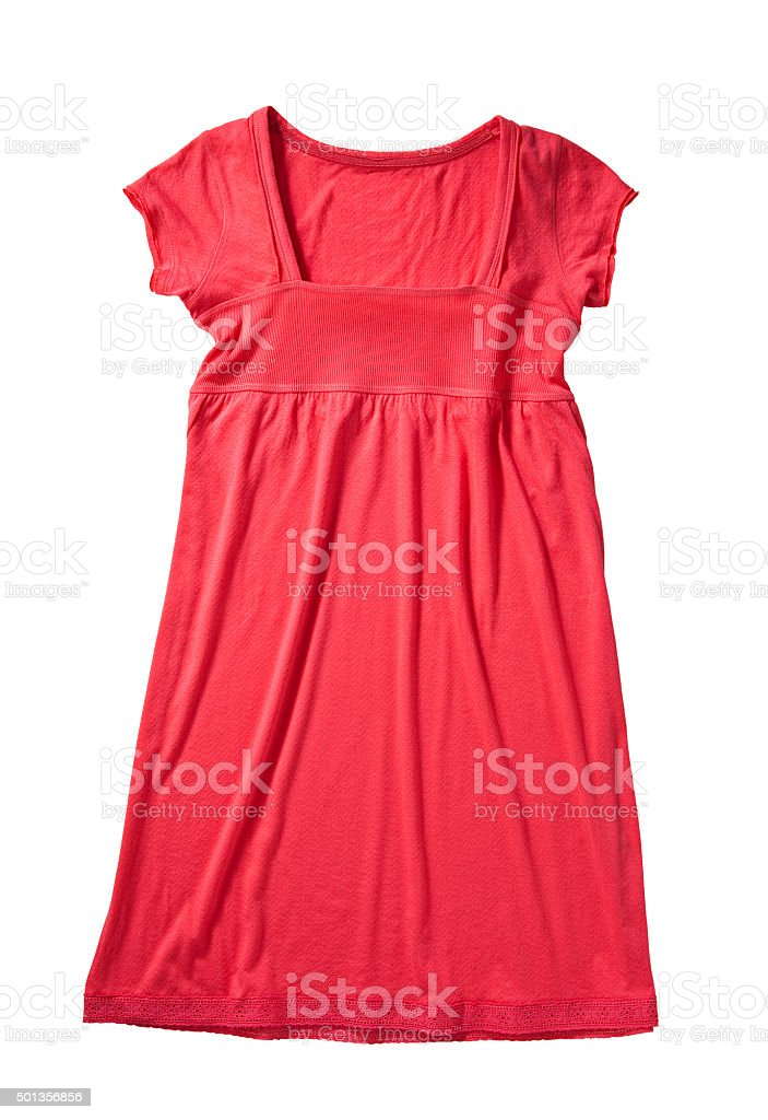 red blouse stock photo