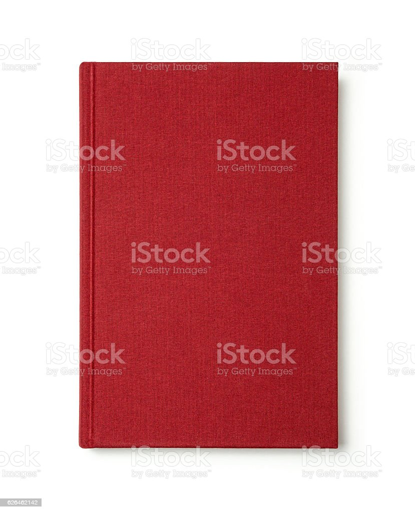 Red book. stock photo