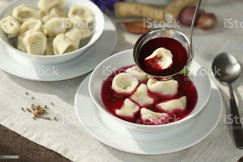 red borscht royalty-free stock photo