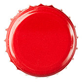 Red Bottle Cap Close-Up