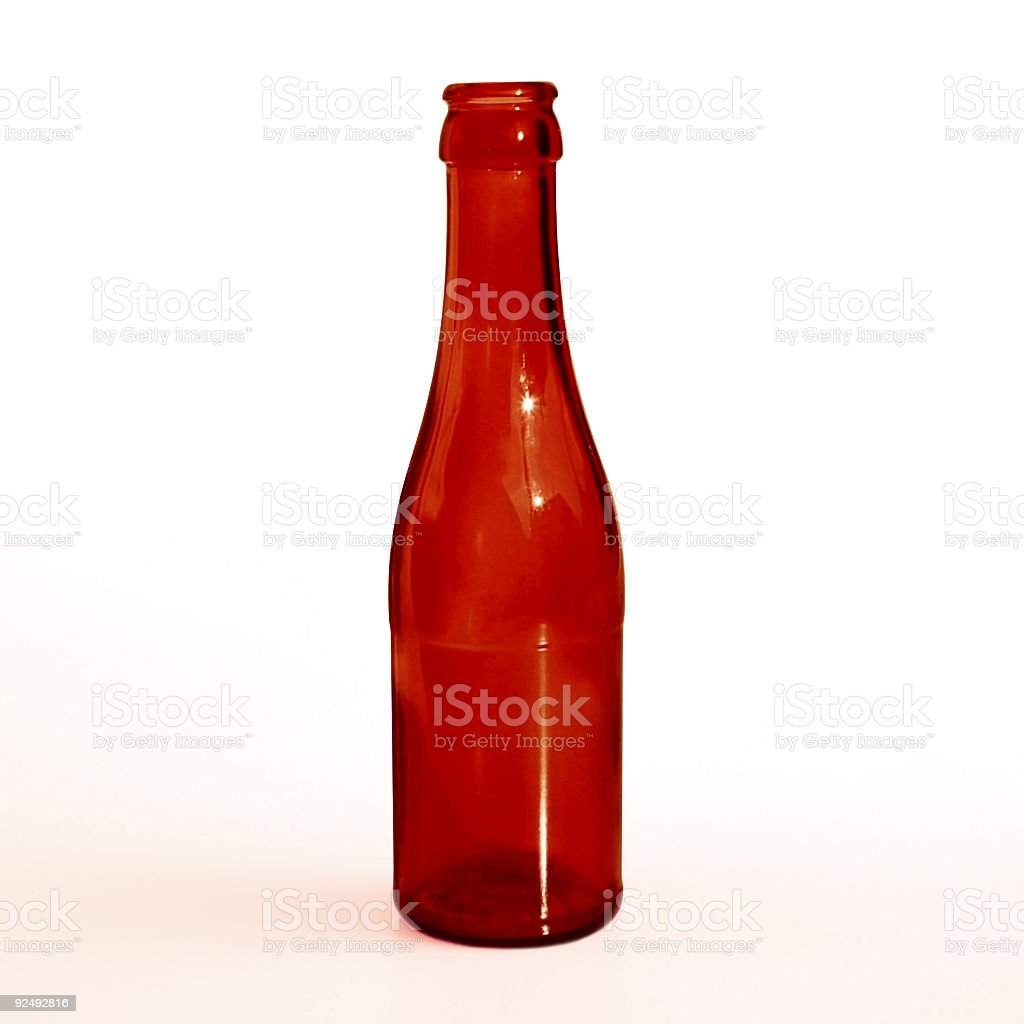 Red Bottle royalty-free stock photo