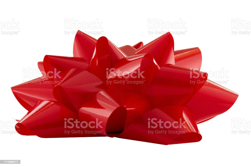 Red Bow on Top - xxlarge stock photo