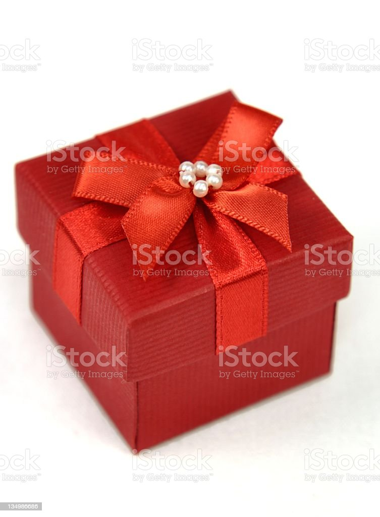 Red Box 2 royalty-free stock photo