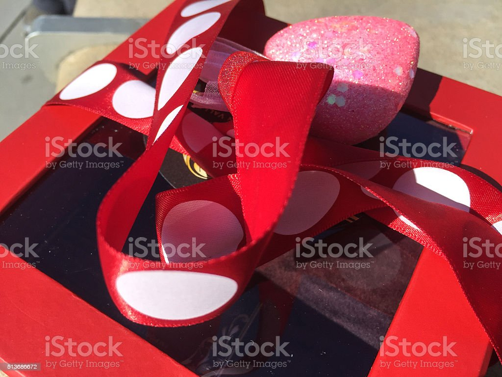 Red Box stock photo