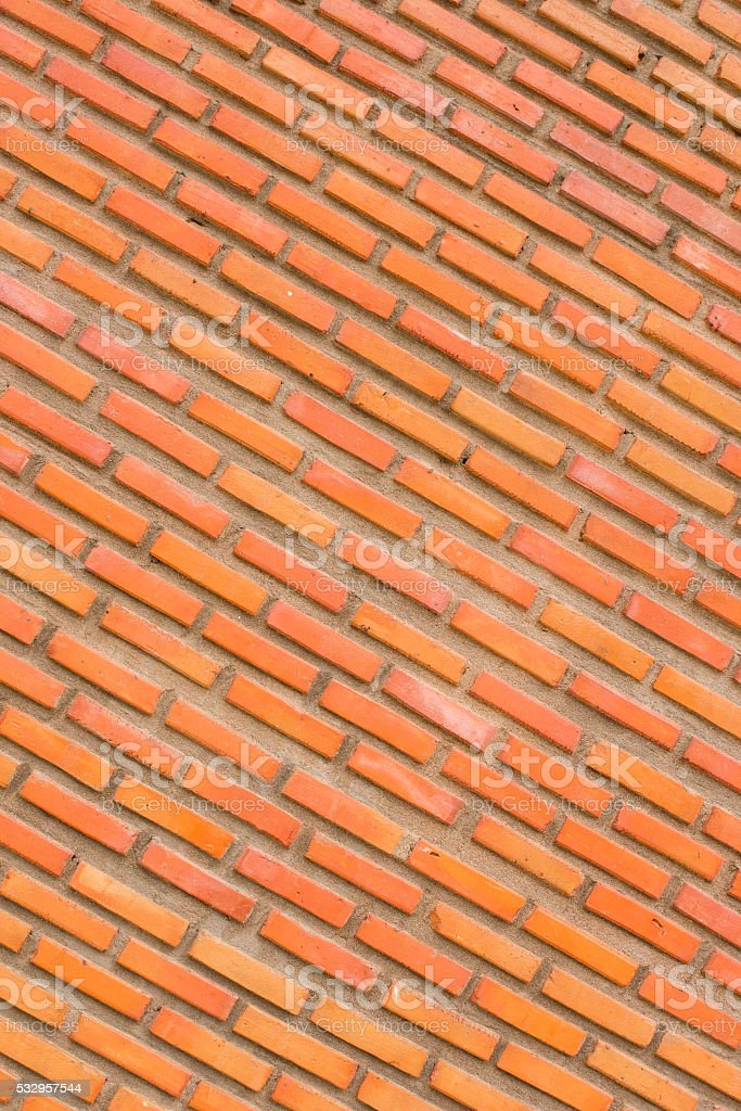 Red brick background texture stock photo