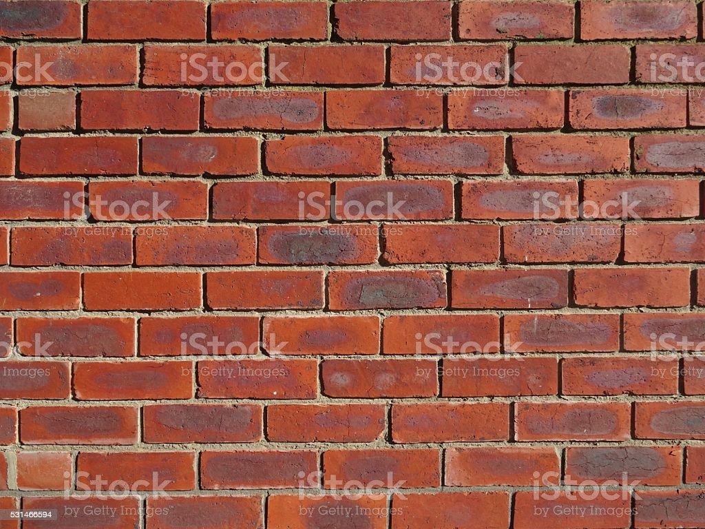 Red brick background wall stock photo