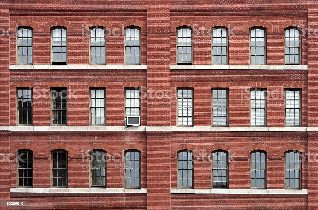 red brick building royalty-free stock photo