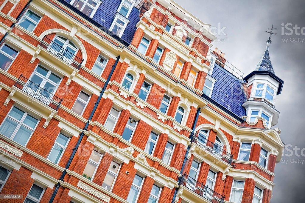 Red Brick Mansion, London royalty-free stock photo