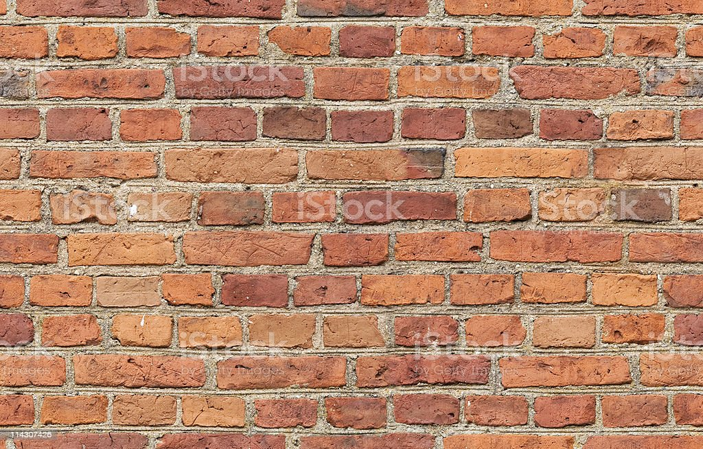 Red Brick Seamless Texture stock photo