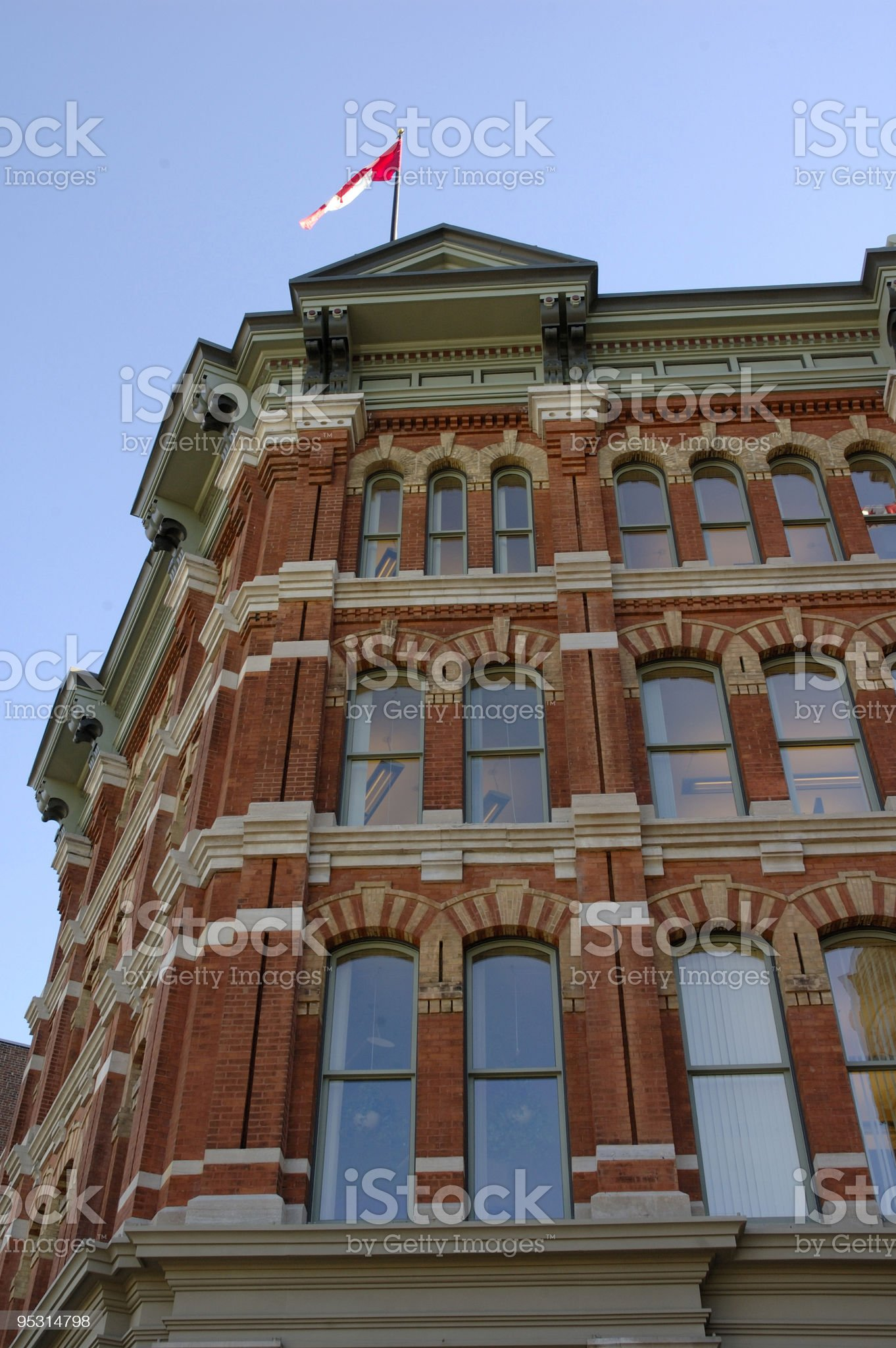 Red brick vertical royalty-free stock photo