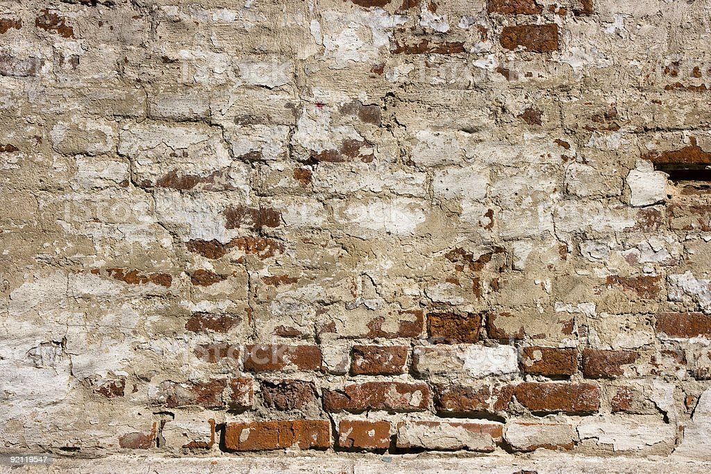 Red brick wall as background royalty-free stock photo