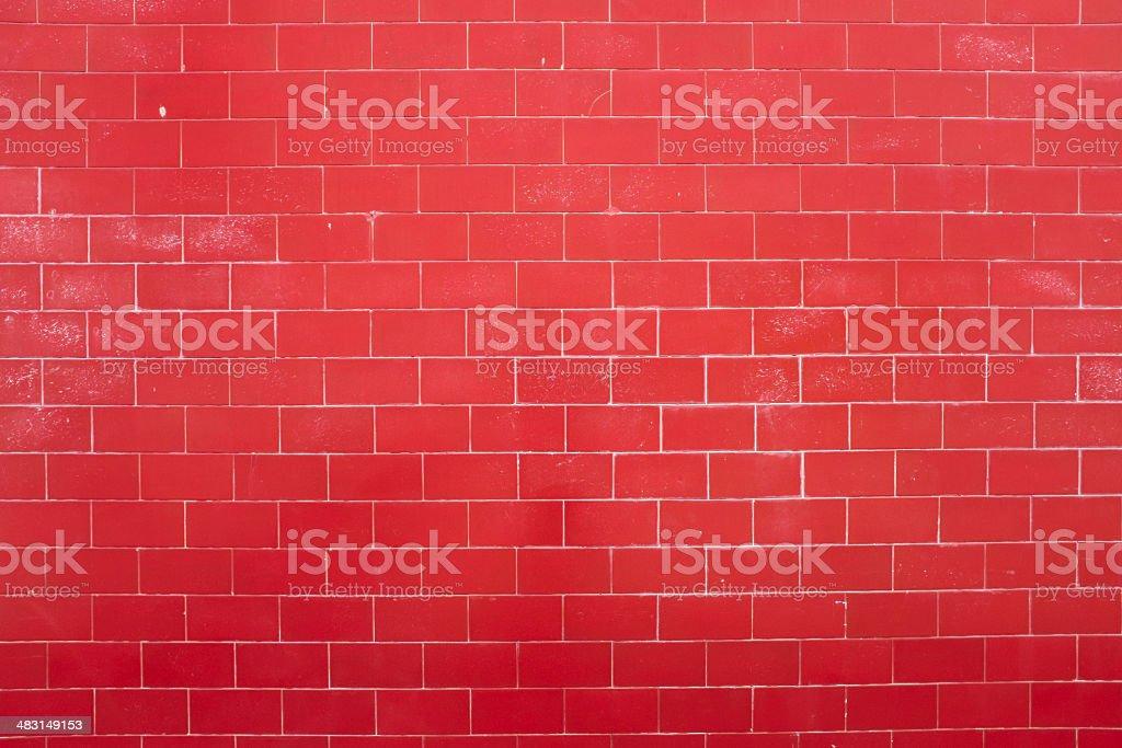 Pared de ladrillo rojo foto de stock libre de derechos