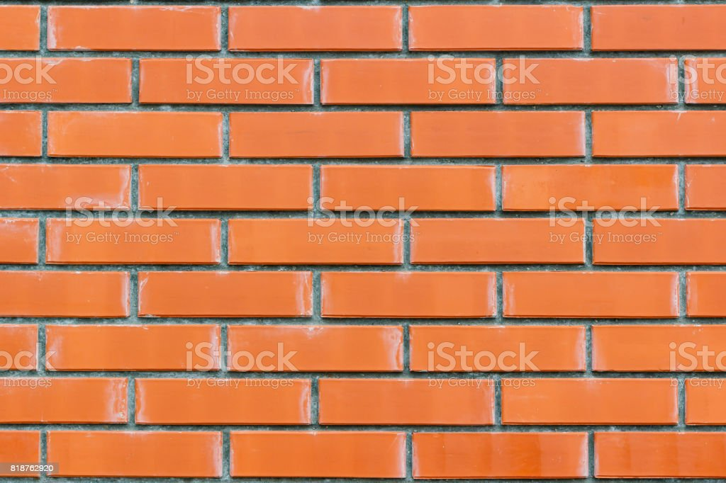 Red brick wall texture. Abstract brick wall background stock photo