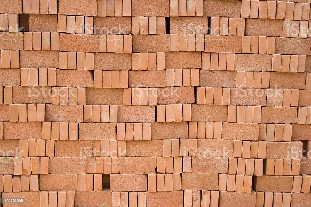 Red bricks background royalty-free stock photo