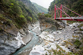 ชRed Bridge landmark of Hualien