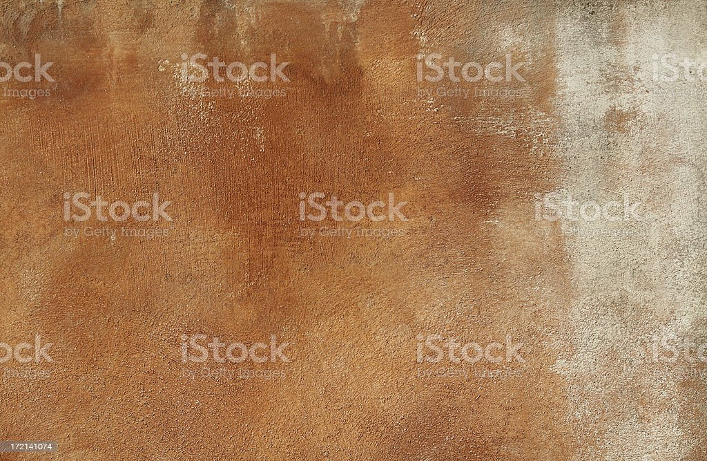 Red Brown grungy Roman wall texture royalty-free stock photo