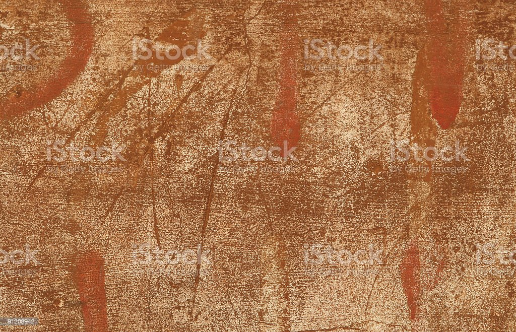 Red Brown Roman grunge wall texture royalty-free stock photo