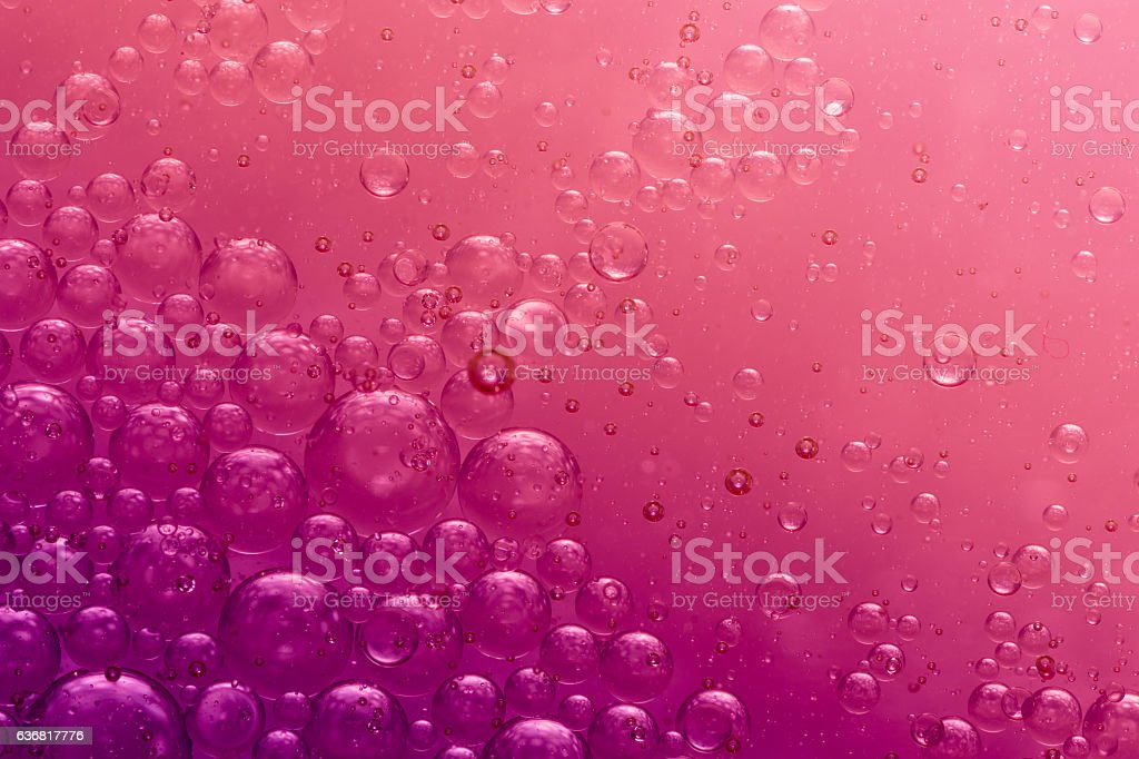 Red bubbles stock photo