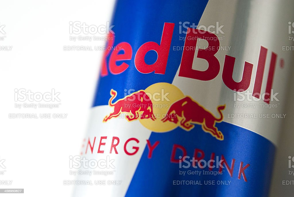 Red Bull Energy Drink stock photo