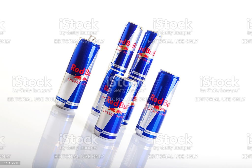 Red Bull Energy Drinks. royalty-free stock photo