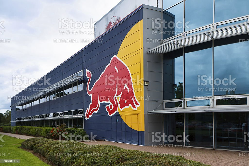 Red Bull Racing HQ stock photo