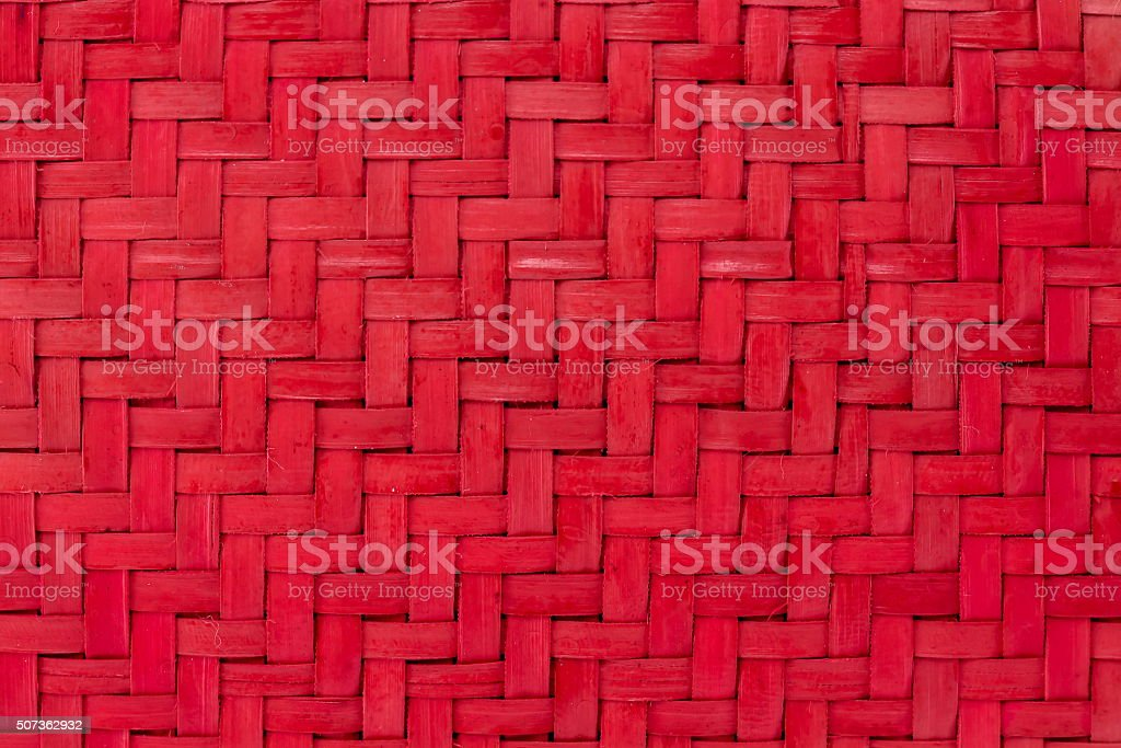 red bulrush weave texture abstract for background stock photo