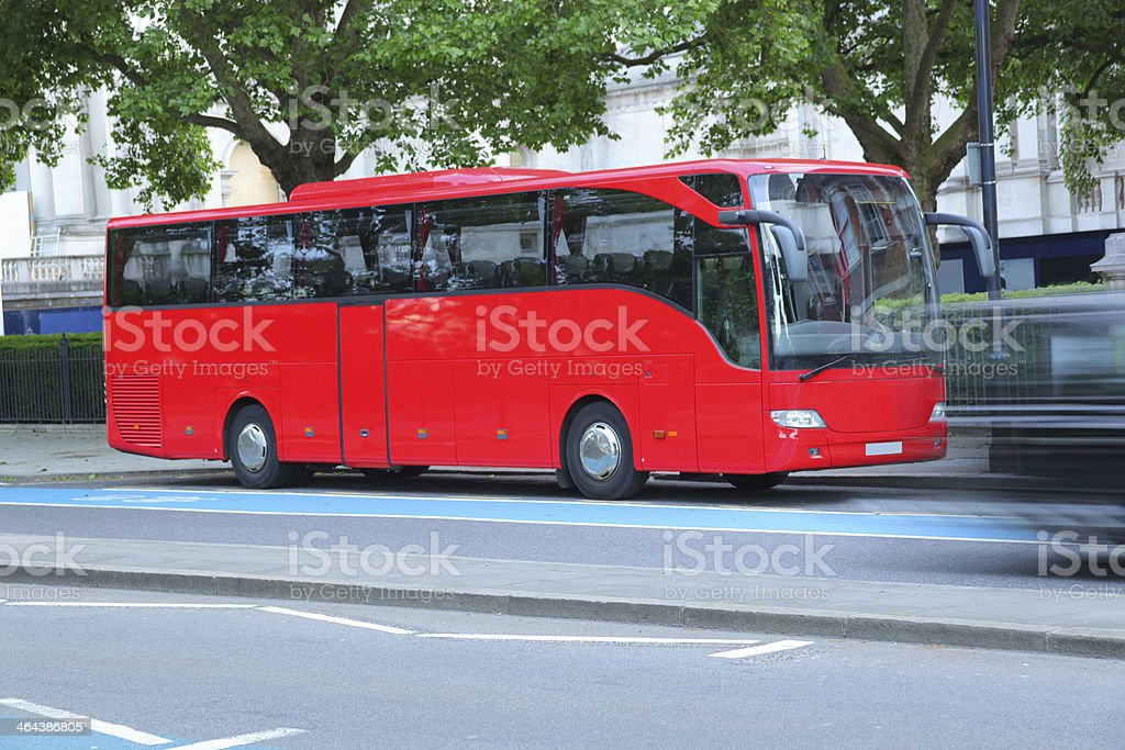 Red Bus royalty-free stock photo