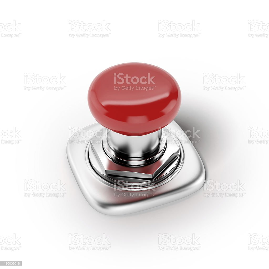 Red button. Action concept royalty-free stock photo