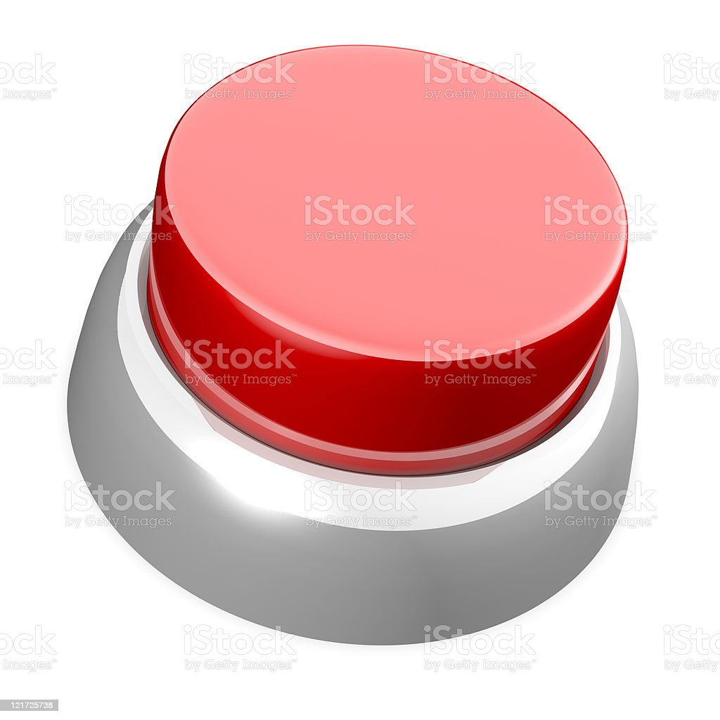 Red button stock photo