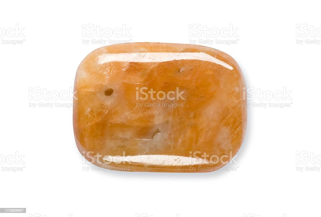 Red Calcite stock photo