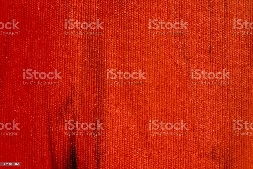 Red Canvas royalty-free stock photo