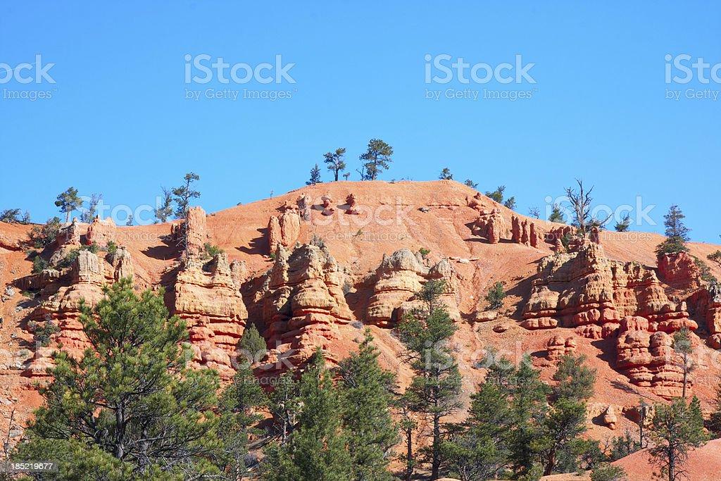Red Canyon. Utah. USA. royalty-free stock photo