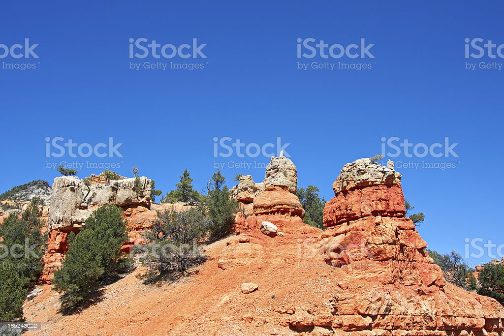 Red Canyon. Utah. USA. royalty-free stock photo