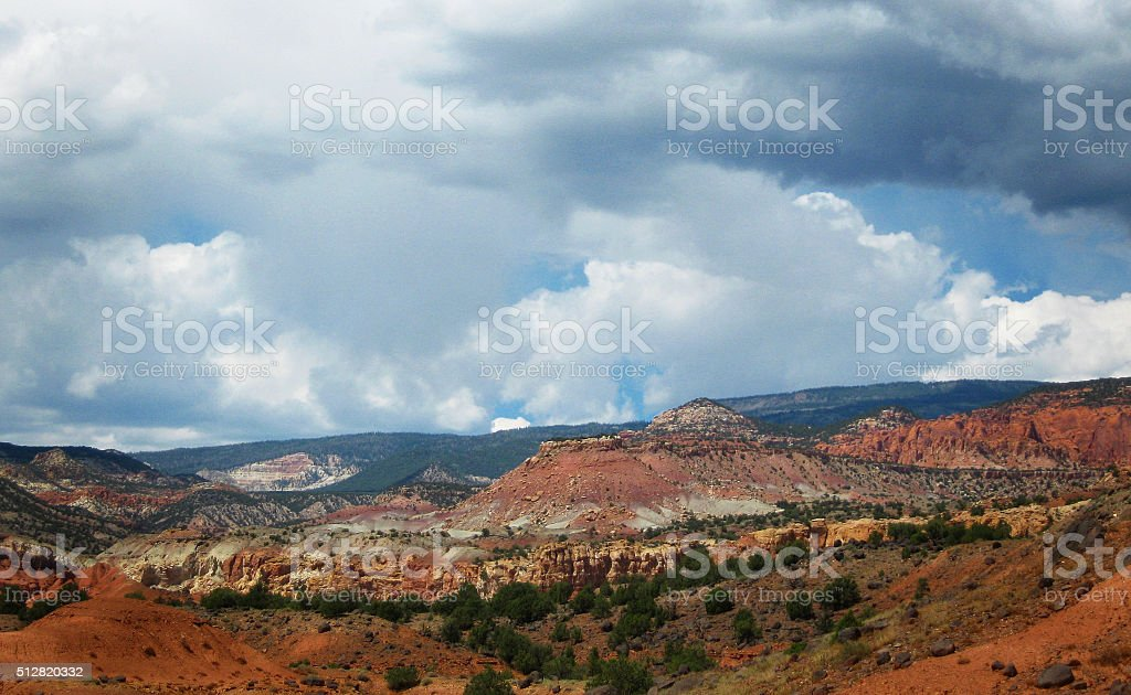Red Canyons stock photo