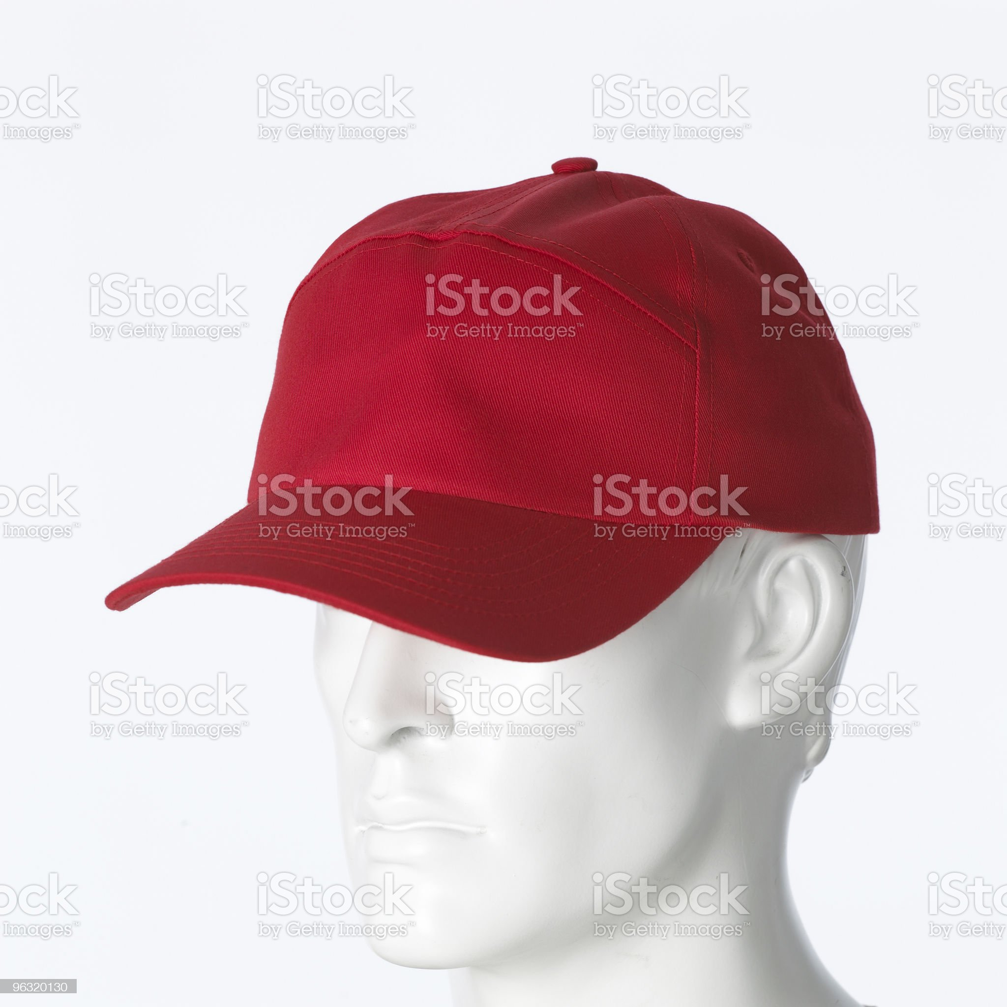 red cap royalty-free stock photo
