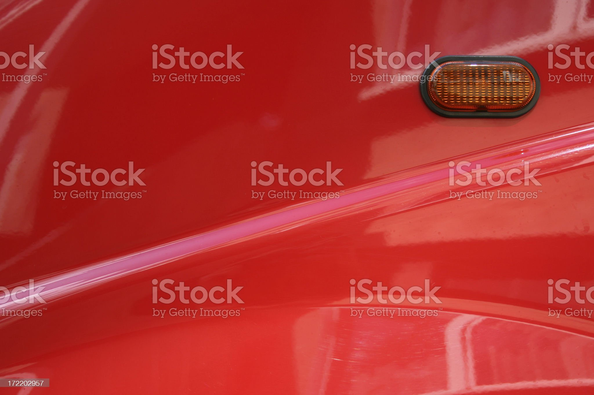 Red car element royalty-free stock photo