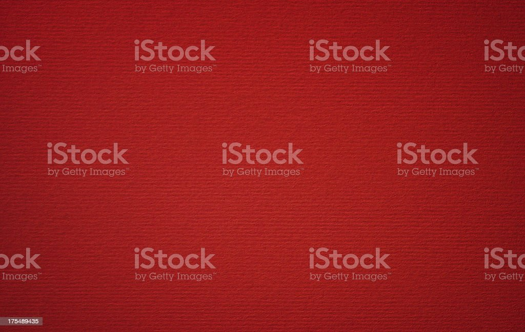Red Cardboard stock photo