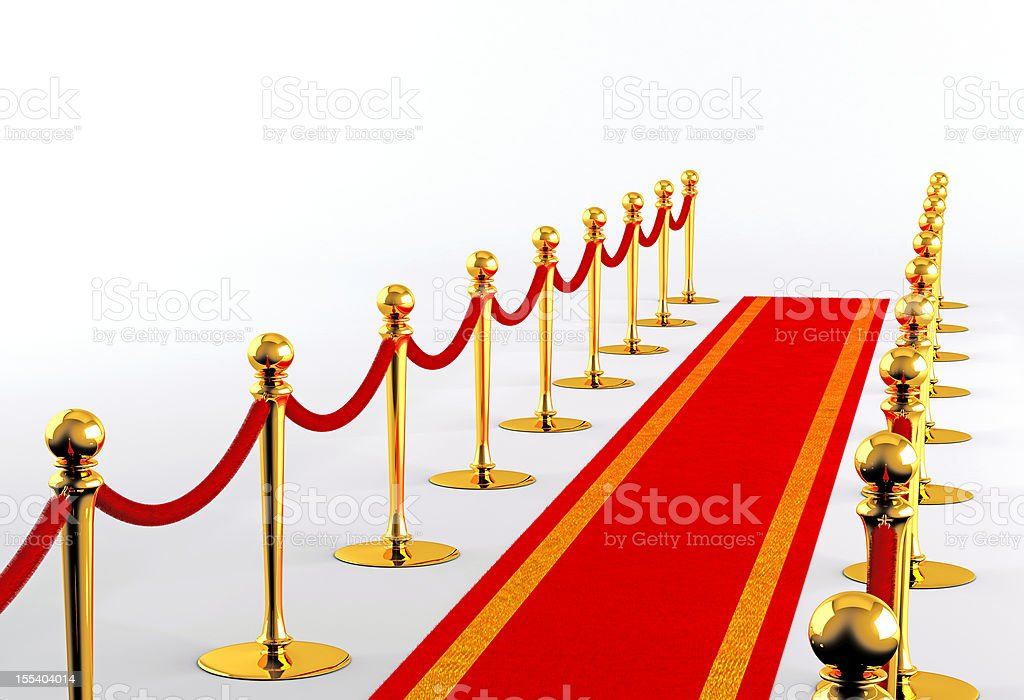 Red carpet 2 royalty-free stock photo