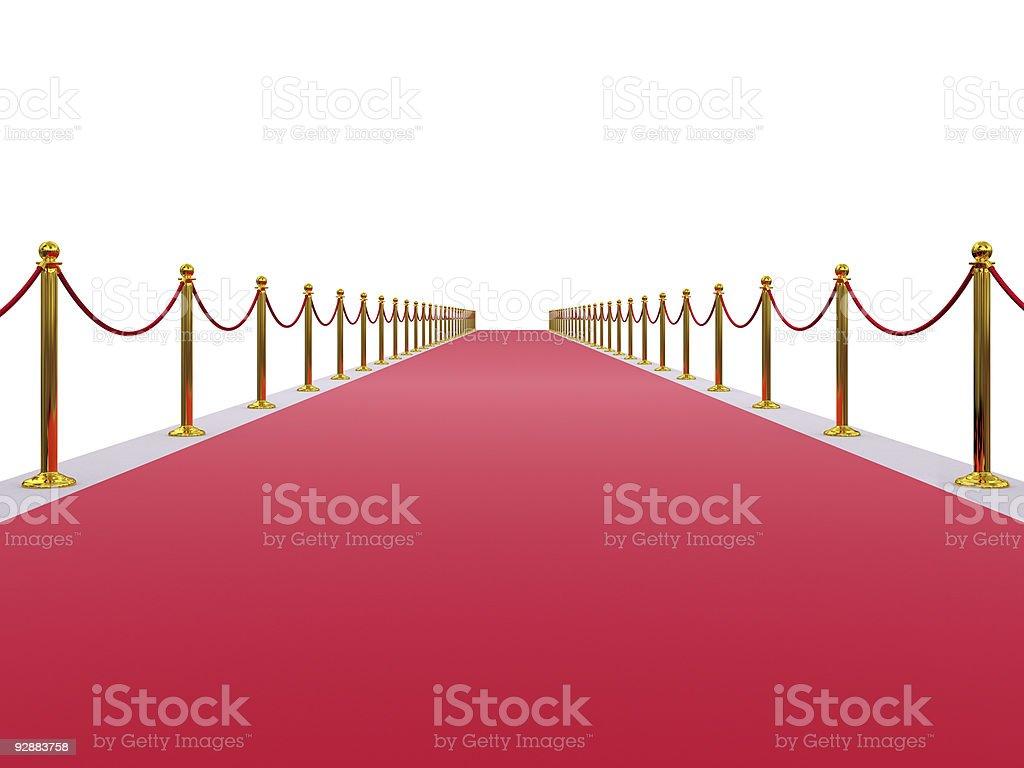 Red Carpet Entrance stock photo