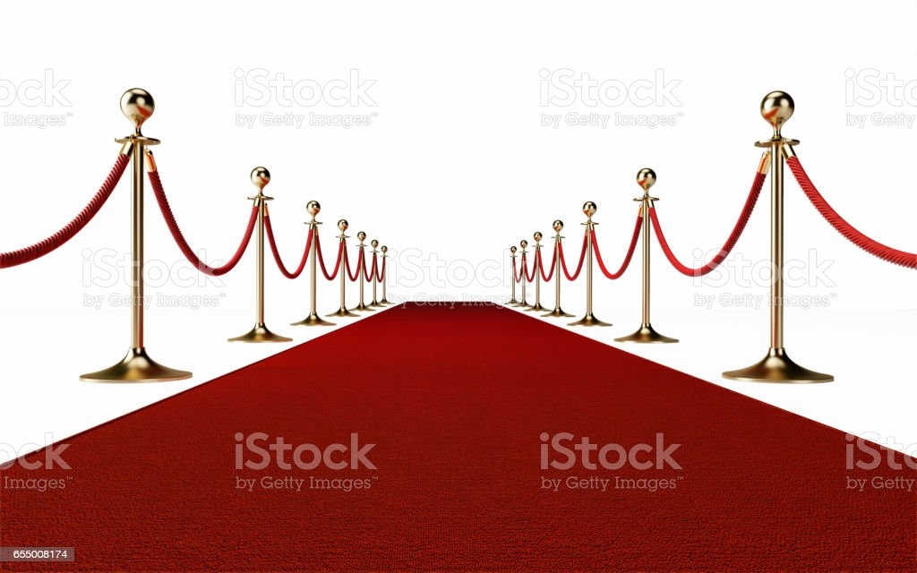 Red Carpet Event Concept stock photo