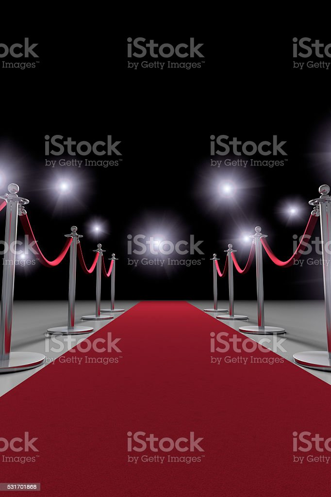Red Carpet Event Paparazzi stock photo