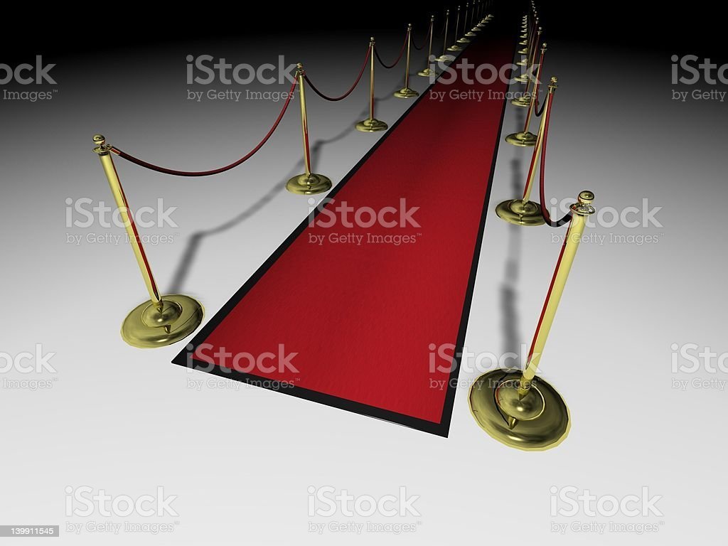 Red Carpet NNE royalty-free stock photo