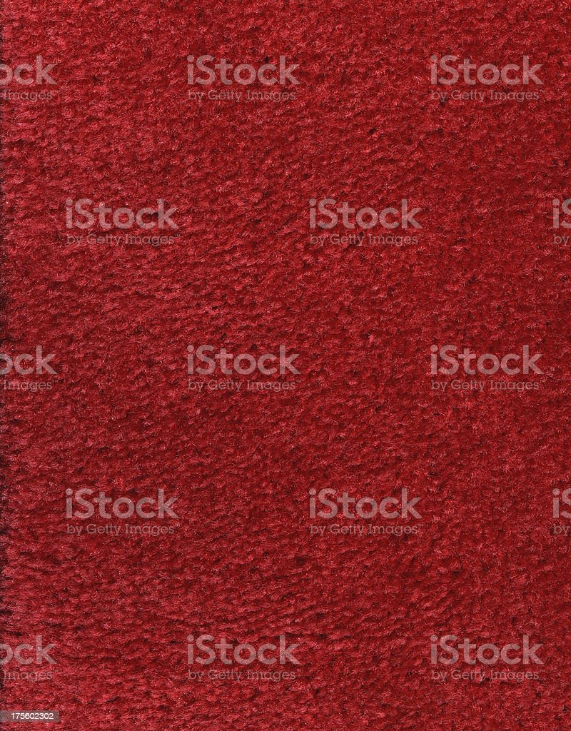 Red Carpet Textured Background royalty-free stock photo