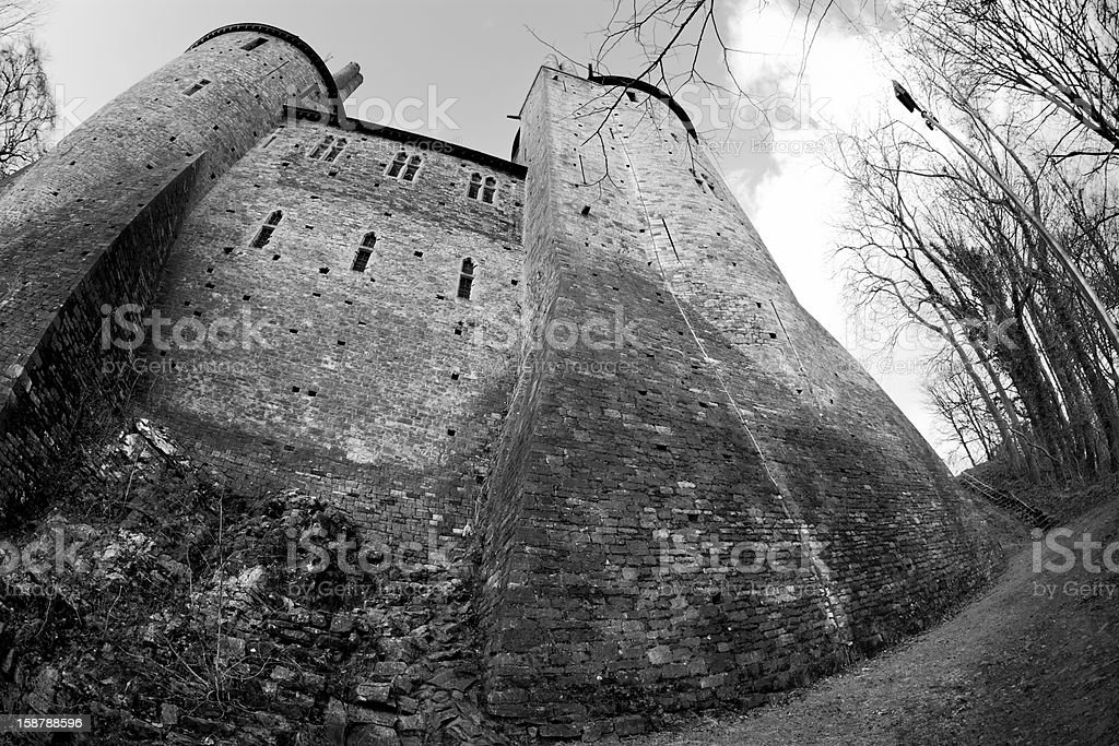 Red Castle stock photo