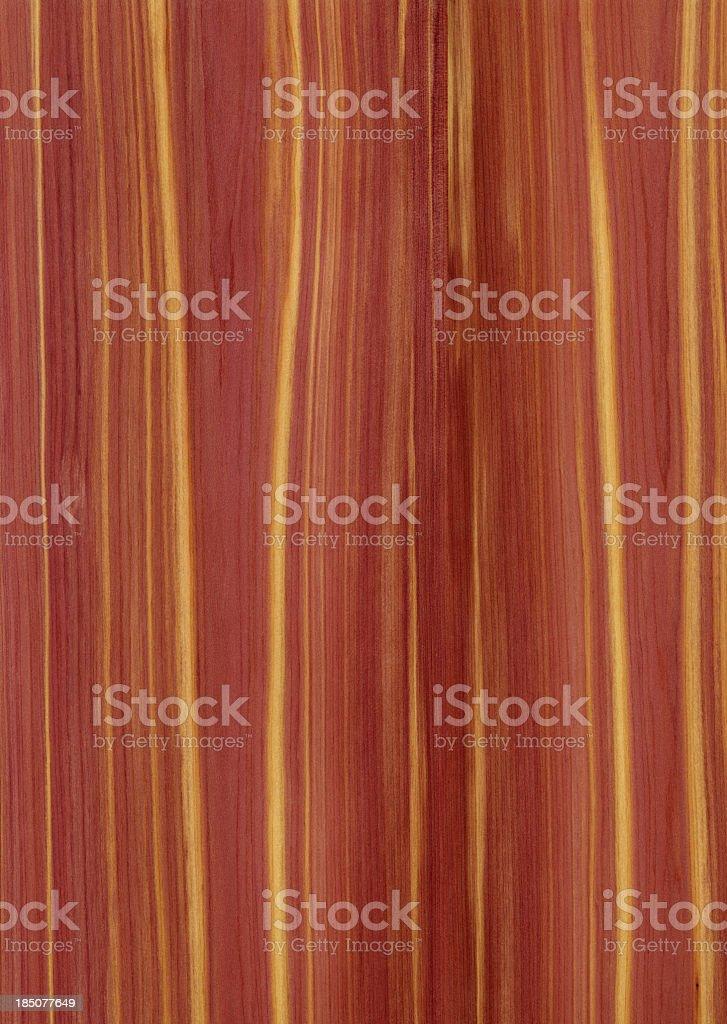 Red cedar wood grain background stock photo