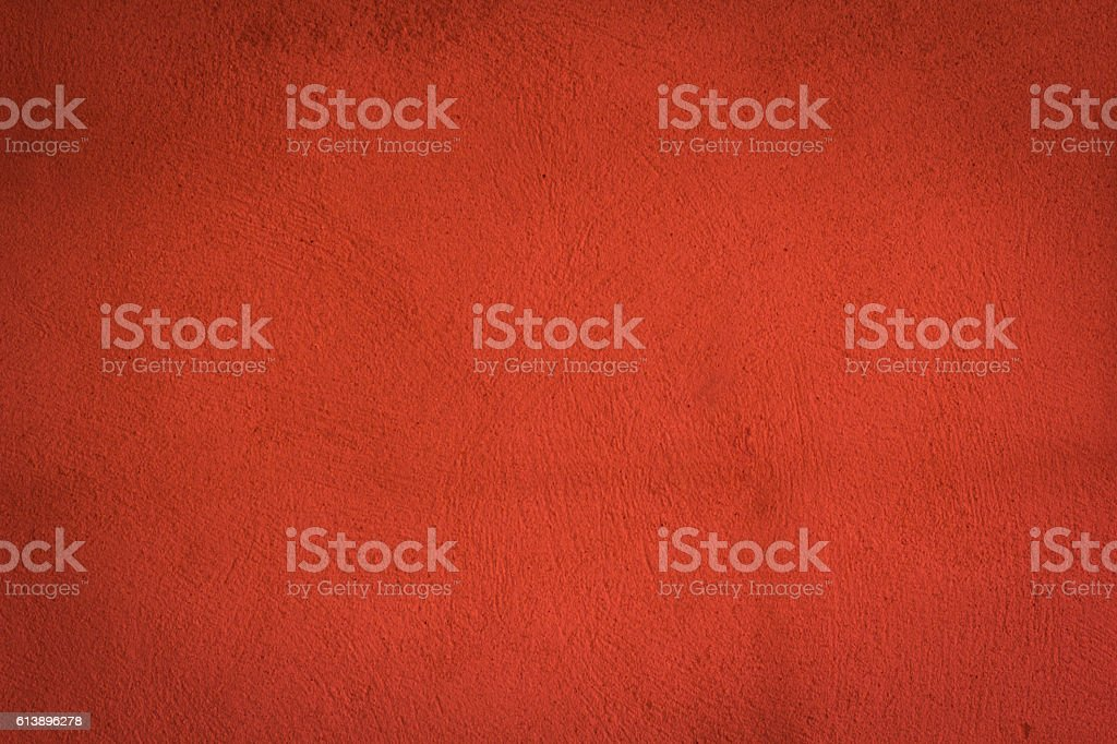 red cement wall texture for background stock photo