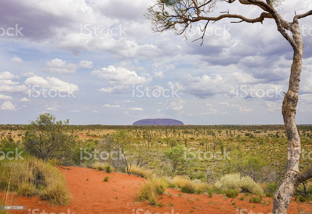Red Center Landscape in Northern Territory, Australia stock photo