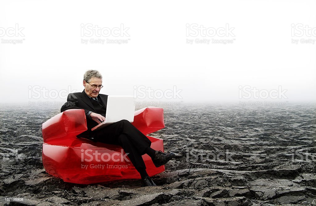 Red Chair - Part two royalty-free stock photo