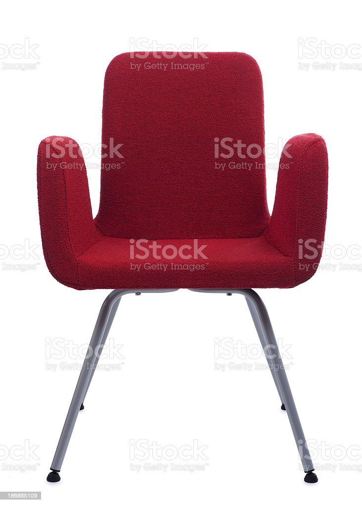 Red Chair stock photo
